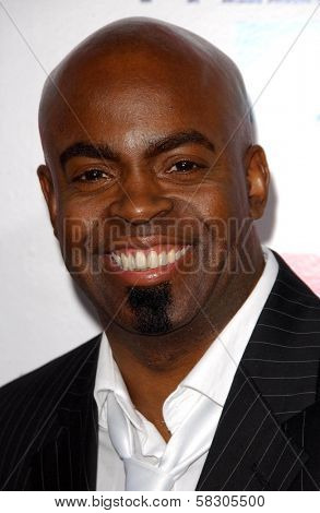 Maurice Jamal at the premiere of