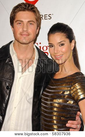 Eric Winter and Roselyn Sanchez at the 2007 MusiCares Person of the Year Honoring Don Henley. Los Angeles Convention Center, Los Angeles, CA. 02-09-07