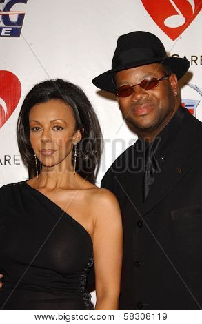 Jimmy Jam and wife Lisa at the 2007 MusiCares Person of the Year Honoring Don Henley. Los Angeles Convention Center, Los Angeles, CA. 02-09-07