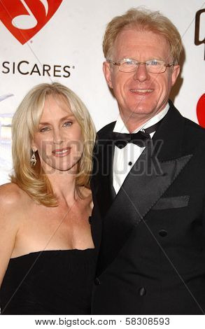 Rachelle Carson and Ed Begley Jr. at the 2007 MusiCares Person of the Year Honoring Don Henley. Los Angeles Convention Center, Los Angeles, CA. 02-09-07