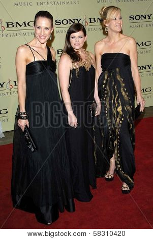 Dixie Chicks at the 2007 Sony/BMG Grammy After Party. Beverly Hills Hotel, Beverly Hills, CA. 02-11-07