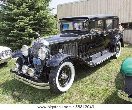 1929 Black Cadillac