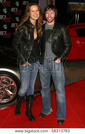 Petra Nemcova and James Blunt at the performance of Wyclef Jean and The Refugee All-Stars presented by