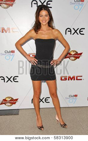 Aline Nakashima at the 2007 Sports Illustrated Swimsuit Issue Party. Pacific Design Center, West Hollywood, CA. 02-14-07