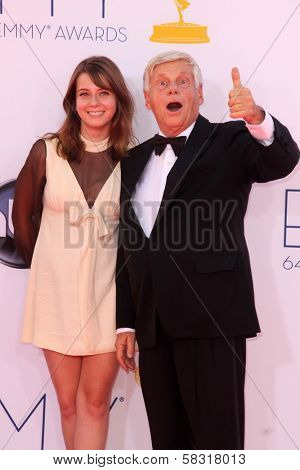 Robert Morse at the 2012 Primetime Emmy Awards Arrivals, Nokia Theater, Los Angeles, CA 09-23-12