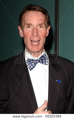 Bill Nye at the world premiere of