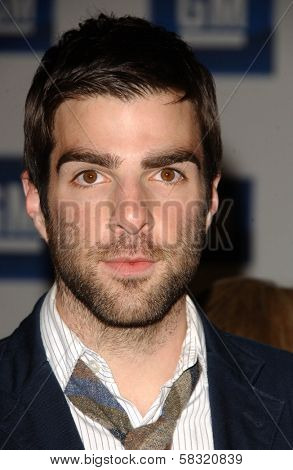 Zachary Quinto at the 2006 GM TEN Fashion Show. Paramount Studios, Hollywood, CA. 02-20-07