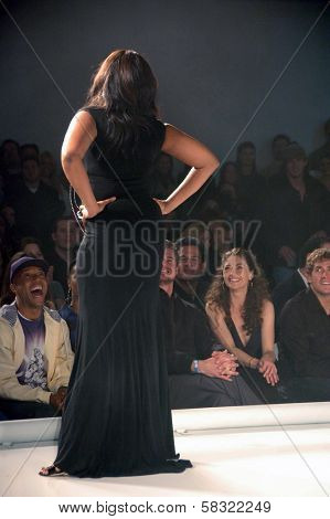 Jennifer Hudson inside at the 2006 GM TEN Fashion Show. Paramount Studios, Hollywood, CA. 02-20-07