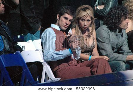 Perry Farrell and Etty Farrell inside at the 2006 GM TEN Fashion Show. Paramount Studios, Hollywood, CA. 02-20-07