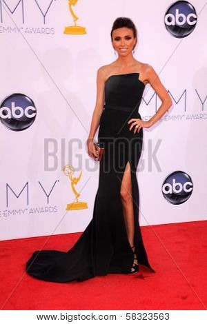 Giuliana Rancic at the 2012 Primetime Emmy Awards Arrivals, Nokia Theater, Los Angeles, CA 09-23-12