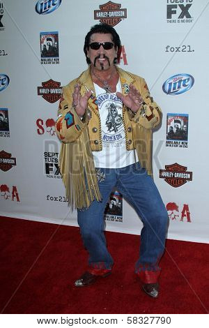 Chuck Zito at the