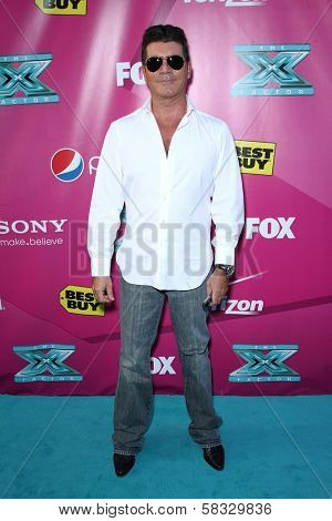 Simon Cowell at the