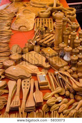Wooden ustensils