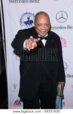 Quincy Jones at the 26th Anniversary Carousel Of Hope Ball, Beverly Hilton, Beverly Hills, CA 10-20-12
