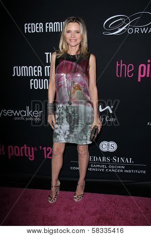 Michelle Pfeiffer at the 8th Annual Pink Party, Hangar 8, Santa Monica, CA 10-27-12