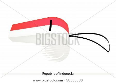 A Whistle Of The Republic Of Indonesia