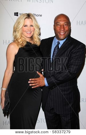 Byron Allen and Jennifer Lucas  at the First Annual Baby2Baby Gala Presented by Harry Winston, Book Bindery, Culver City, CA 11-03-12