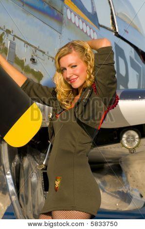 Aviation Pinup