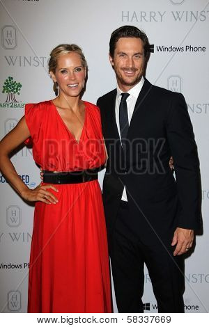 Erinn Bartlett, Oliver Hudson at the First Annual Baby2Baby Gala Presented by Harry Winston, Book Bindery, Culver City, CA 11-03-12