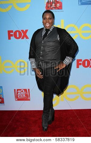 Alex Newell at the