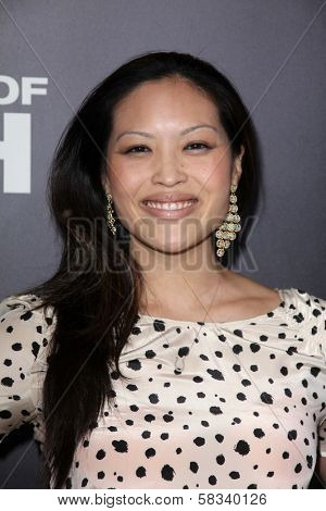 Kristy Wu at the