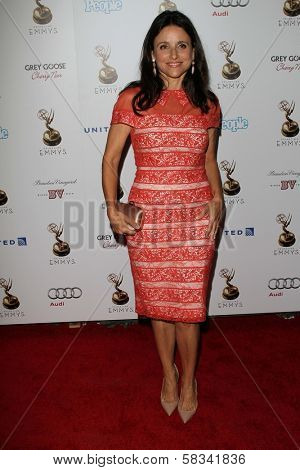Julia Louis-Dreyfus at the 64th Primetime Emmy Award Performer Nominee Reception, Spectra by Wolfgang Puck, West Hollywood, CA 09-21-12