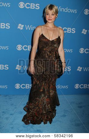 Sarah Jones at the CBS 2012 Fall Premiere Party, Greystone Manor, West Hollywood, CA 09-18-12
