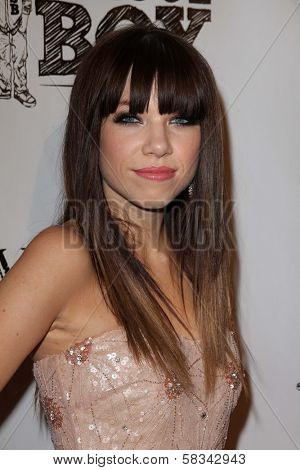 Carly Rae Jepsen at the Carly Rae Jepsen Album Release Party For Debut Record