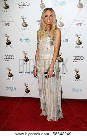 Joanne Froggatt at the 64th Primetime Emmy Award Performer Nominee Reception, Spectra by Wolfgang Puck, West Hollywood, CA 09-21-12