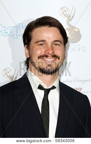 Jason Ritter at the 64th Primetime Emmy Award Performer Nominee Reception, Spectra by Wolfgang Puck, West Hollywood, CA 09-21-12