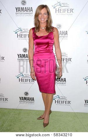Allison Janney at Heifer International's