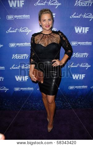 Jessica Capshaw at the Variety and Women In Film Pre-Emmy Event, Scarpetta, Beverly Hills, CA 09-21-12