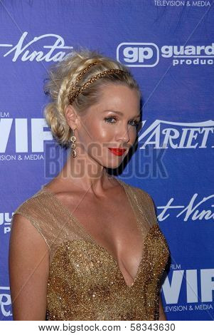 Jennie Garth at the Variety and Women In Film Pre-Emmy Event, Scarpetta, Beverly Hills, CA 09-21-12