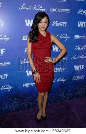 Aimee Garcia at the Variety and Women In Film Pre-Emmy Event, Scarpetta, Beverly Hills, CA 09-21-12