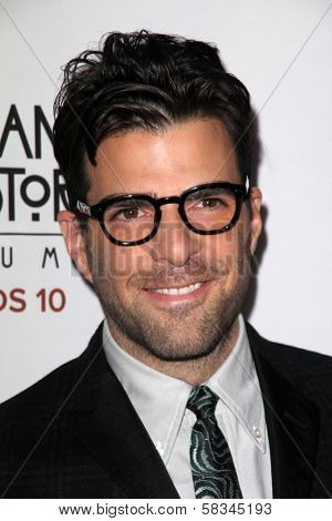 Zachary Quinto at the Premiere Screening of FX's