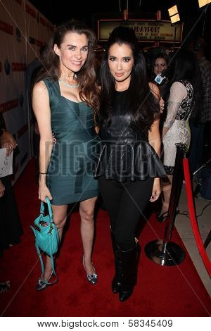 Alicia Arden, Amy Weber at the Red Carpet Premiere for