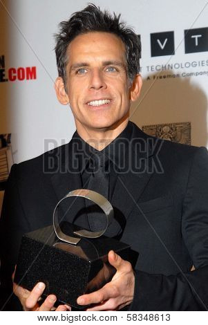 Ben Stiller at the 26th American Cinematheque Award Honoring Ben Stiller, Beverly Hilton Hotel, Beverly Hills, CA 11-15-12