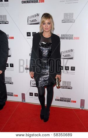 Carolina Crescentini at the 26th American Cinematheque Award Honoring Ben Stiller, Beverly Hilton Hotel, Beverly Hills, CA 11-15-12