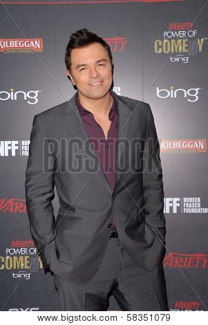 Seth MacFarlane at Variety's 3rd Annual Power of Comedy, Avalon, Hollywood, CA 11-17-12