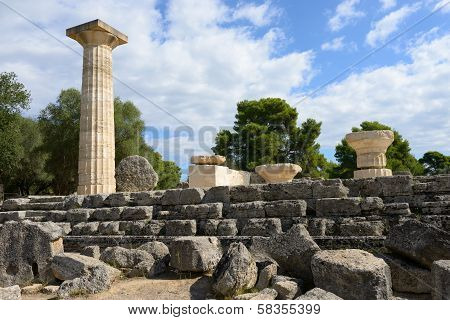 Greece Olympia Origin Of The Olympic Games