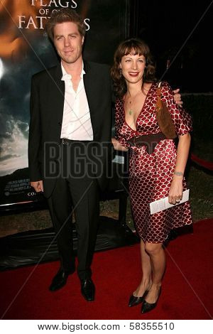 Kyle Eastwood and Alison Eastwood at the premiere of