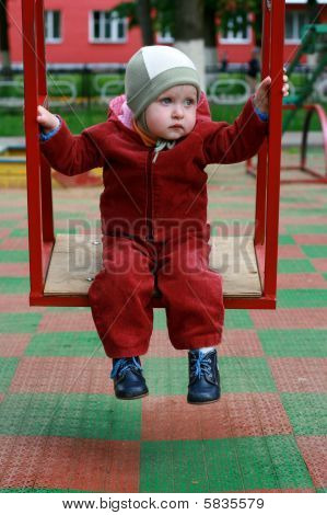 The Child On A Swing