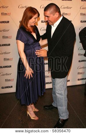 Bryce Dallas Howard and Alfred Molina at the Glamour Reel Moments Short Film Series presented by Cartier. Directors Guild of America, Los Angeles, CA. 10-16-06