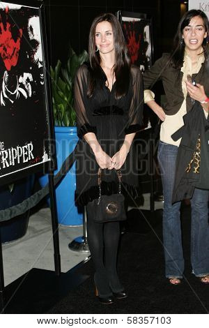 Courteney Cox at the World Premiere of