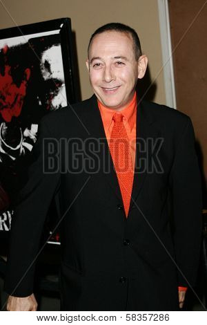 Paul Reubens at the World Premiere of