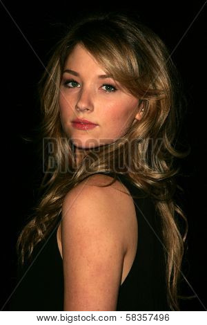 Haley Bennett at Hugo Boss's