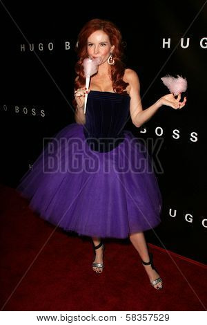 Phoebe Price at Hugo Boss's