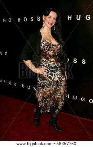 Jackie Watson at Hugo Boss's