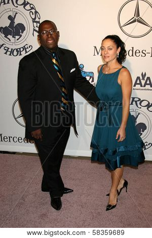 Randy Jackson and wife Erika at the 17th Carousel of Hope Ball to benefit The Barbara Davis Center for Childhood Diabetes. Beverly Hilton Hotel, Beverly Hills, CA. 10-28-06