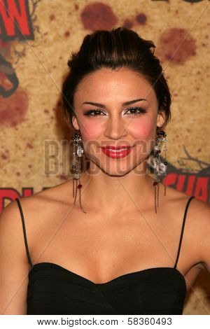 Samaire Armstrong at the Fuse Fangoria Chainsaw Awards. Orpheum Theatre, Los Angeles, CA. 10-15-06